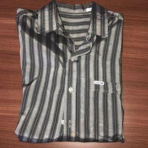 LIKE NEW! Men's short sleeve button down shirt